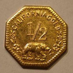 Moneda de la moneda de oro de California