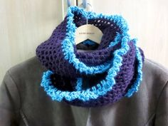 Knit and crochet one of a kind fashion accessories