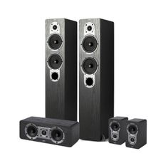 Jamo S 426 HCS 3 home cinema speakers found on Polyvore