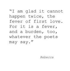 Rebecca on love