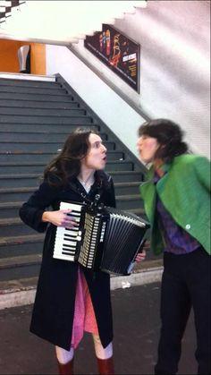 Anne Kaempf and Lior Shoov - Billie Jean dans le métro, Paris