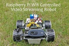 Picture of Raspberry Pi Wifi Controlled Video Streaming Robot