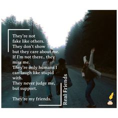 Having group of real friends is no less than good luck. Judge Me, Real Friends, I Can, My Friend, Friendship, Poems, Relationship, English, Thoughts