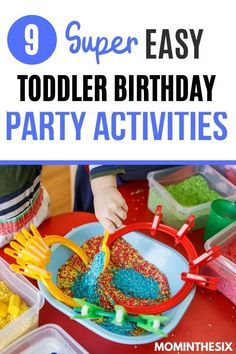 Looking for easy to set up toddler birthday games and activities? These simple toddler birthday party games will do the trick! 2 year old. 3 year old. Two Year Old. Three Year Old Toddler Birthday Party Games, 2 Year Old Birthday Party Girl, Birthday Activities, Party Activities, Boy Birthday Parties, Toddler Activities, 3rd Birthday, Toddler Fun, Birthday Ideas