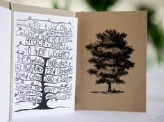Wedding Invitation - Tree