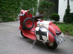 oldscoot: The Red Baron