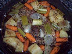 Campfire Pot Roast - Made in a Dutch Oven (I don't think that this is the actual photo)