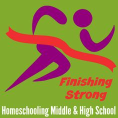 Finishing Strong – Homeschooling Middle & High School @Education Possible Now that we're back, it's time to get Finishing Strong up and running bigger and better than before. One thing is remaining the same – Finishing Strong will continue to be a key resource for those homeschooling middle and high school kids.