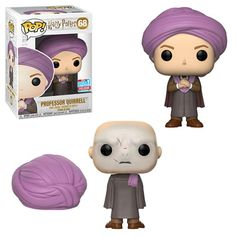 Harry Potter: Professor Quirrell / Voldemort NYCC 2018 Fall Convention Shared Exclusive in Pop Protector Figurine Pop Harry Potter, Harry Potter Pop Figures, Harry Potter Cosplay, Harry Potter Anime, Funko Pop Harry Potter, Harry Potter Disney, Harry Potter Comics, Disney Pop, Pop Vinyl Figures