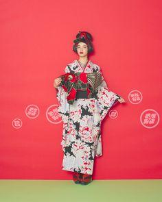 """Kimono Girl"" this kimono Mook Rakuten] [accepted mail: Furifu"