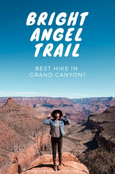 A Quick Guide to Bright Angel Trail in Grand Canyon - IN BETWEEN LATTES | Bright Angel Trail to Three-Mile Resthouse - Arizona, Most popular hikes in Grand Canyon, Grand Canyon Bright Angel Trail Guide, Grand Canyon Hiking, Hiking in Grand Canyon South Rim, Best Hikes in Grand Canyon, Travel Guide, Bright Angel Trail in One Day #BrightAngelTrail #GrandCanyon #Arizona