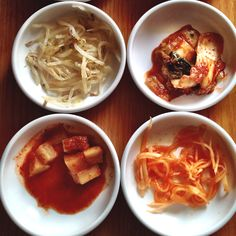 Kimchee--many varieties