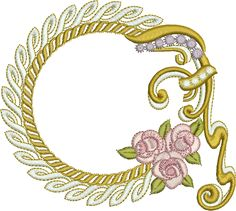 Sue Box Creations | Download Embroidery Designs | 16 - Wreath