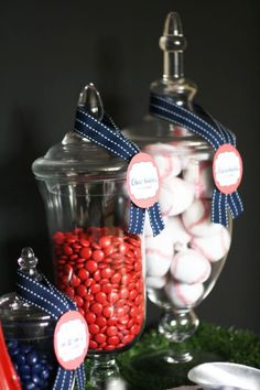 Batter Up Baseball Birthday Party - Kara's Party Ideas - The Place for All Things Party
