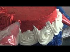 ▶ How to Make a Rose Cake by i am baker - YouTube