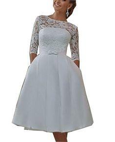 Sound of blossoming Tea length Half Sleeve Lace Wedding B... https://www.amazon.com/dp/B01MT34ERR/ref=cm_sw_r_pi_dp_x_BK5Kyb6YDQQXA