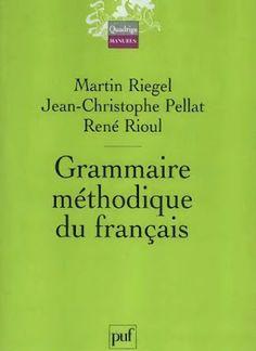 la faculté: Télécharger : Grammaire méthodique du français.pdf