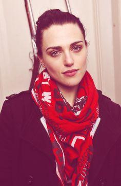 Actress Katie McGrath