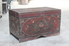 Vintage Indian Trunk by MarigoldImports on Etsy