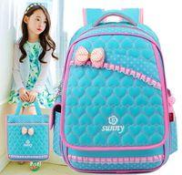 Top Brand Orthopedic Cute Love Heart Princess Children School Bags Backpack Mochila For Teenagers Kids Boys Girls Laptop Bag