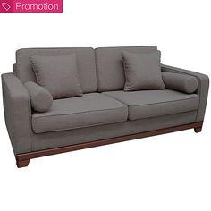 Canapé convertible tissu Magnolia. 810e.  - canapé 3 places : L193 x H81 x P85. - assise : L163 x H42 x P53 cm. - couchage : 133 x 183 cm Canapé 2 Places Convertible, Canapé Angle Convertible, Magnolia, Sofa, Couch, Furniture, Home Decor, 3 Seater Sofa, Settee