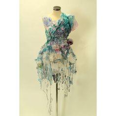 20 New ideas nature inspired dress textiles Fashion Art, Fashion Show, Fashion Design, Fish Fashion, A Level Textiles, Recycled Fashion, High Art, Art Plastique, Costume Dress