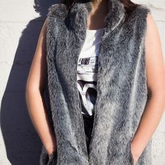 One of your best investments could be a fake fur gilet. Shop Greying Gilet @ www.myfavouritemusthaves.com