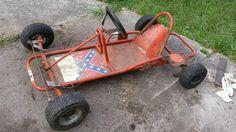 Dukes of hazzard original go kart frame general lee Go Kart Frame Plans, Go Kart Plans, Go Kart Chassis, Vintage Go Karts, Soap Box Cars, Homemade Go Kart, Dukes Of Hazard, Diy Go Kart, General Lee