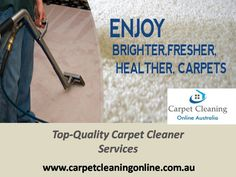 Looking for the Best carpet cleaner? Australia best Carpet Cleaner from carpet cleaning online Australia available at special Price. Our professional cleaning for rugs, tiles, grouts, and furniture and prepared to convey top-quality services. Read More: http://www.carpetcleaningonline.com.au/