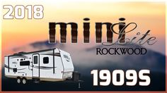 2018 Forest River Rockwood Mini Lite 1909S Travel Trailer RV For Sale All Seasons RV Supercenter Buy this 2018 Rockwood Mini Lite 1909S now at http://ift.tt/2vmGRjJ or call All Seasons RV today at 231-760-8772!  Its never been easier to escape the big city and go off the grid than with this 2018 Rockwood Mini Lite 1909S travel trailer.   This 20 4-long travel trailer features laminated fiberglass sidewalls with distinctive black exterior trim. There is an 11 patio awning that extends over…