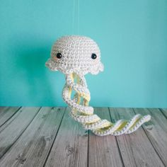 Hortense the jellyfish, a tribute amigurumi pattern – June Lee Hooker