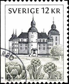 Sello: Swedish Castles & Palaces - Lacko Slott (Suecia) (Architecture (Classical)) Mi:SE 2742