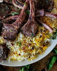 Lemon Tahini Sauce, Lemon Tahini Dressing, Grilled Peppers, Cooking White Rice, Eastern Cuisine, Chops Recipe, Lamb Chops