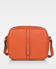 DECADENT Polina Round Cross Body Bag, Autumn orange