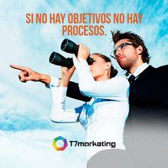 Traza objetivos claros para tu empresa y establece los procesos para alcanzarlos. #Empresas