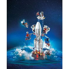 PLAYMOBIL City Action Space Rocket with Launch Site Building Set $49.99  #BestReviews
