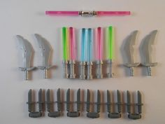 Lego Minifigures - Lightsabers Hilt Knifes Swords. New! Free shipping! Star wars