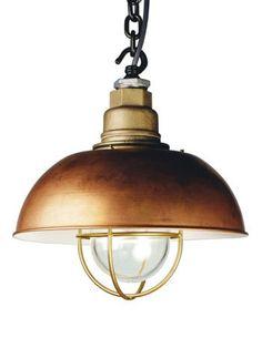 Fancy - Davey Lighting, Cast Brass Deck Light