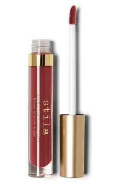 stila 'stay all day' liquid lipstick in Ricco