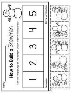 This packet is packed with snowy fun! Plenty of math and literacy practice with a festive snowy theme. New! There are now two options for many of the worksheets: Full page or half page. This allows you to save on copies and ink! Check out the preview file for a detailed look into the packet! pre-k kindergarten homeschool