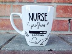 I'm A Nurse what's your Superpower Coffee Mug. by PupocoARTS