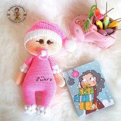 #amigurumi emzikli bebek doll