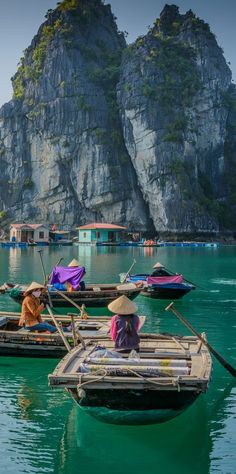 I loved the overnight boat ride adventure that I had in Halong Bay!  So pretty.  Halong Bay, Vietnam.