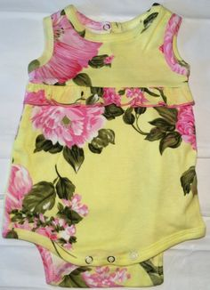 New Mad Sky Kids Baby Girl 18 Month Designer Bubble Palm Beach Floral 18 Months