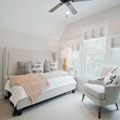 SL Inspired Home at Habersham: The Guest Bedroom