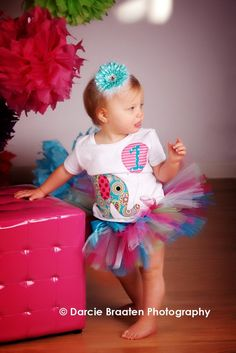 I hope I have a daughter when I grow up just so I can dress her in tutus (: 1st Birthday Pictures, Girl Birthday Themes, First Birthday Outfits, Baby Birthday, First Birthday Parties, First Birthdays, Birthday Ideas, Pink Elephant Party, Elephant Birthday