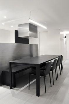 Vivienda minimalista y esencial por Enrica Mosciaro, de Fusina 6 | Interiores Minimalistas