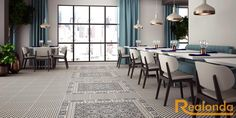 SERIE ORLY 44X44 Porcelánico. #welovetiles #tileofspain #spain #azulejo #tile #design #interiordesign #porcelain