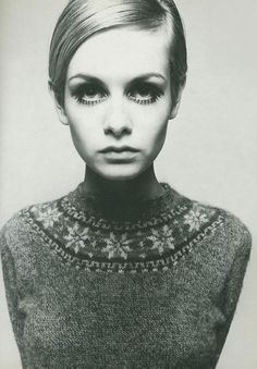 Twiggy - 1960's makeup