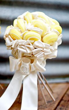 Cute Lollypop Wedding Bouquet